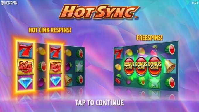 Herní automat Hot Sync