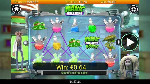 Online hrací automat na mobilu v Casino Cruise