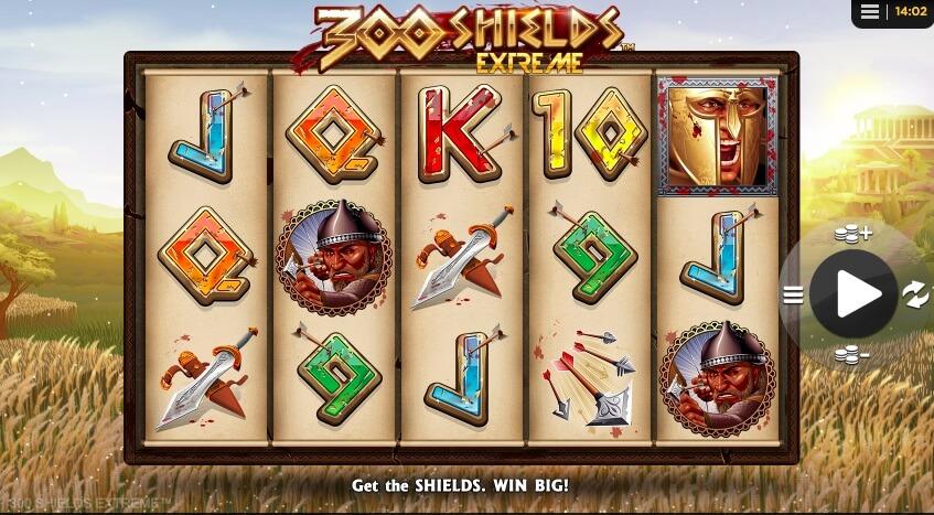 Casino hra 300 Shields Extreme