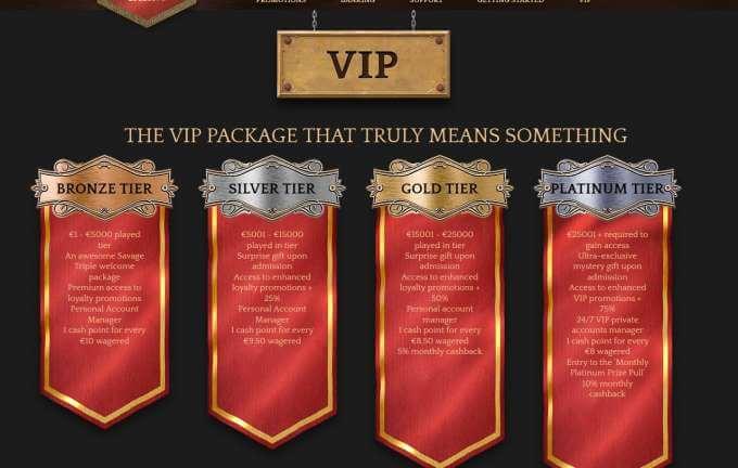 Online casino Bronze a jehé VIP promoakce!