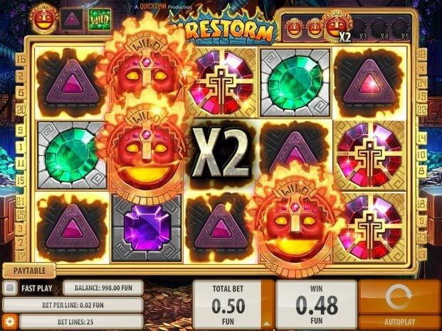 Firestorm herní automat