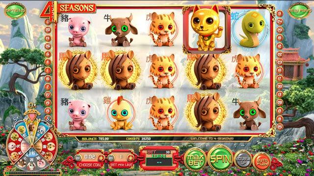 Výherní automat 4 Seasons