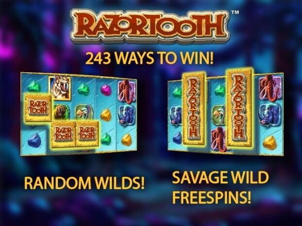 Herní automat Razortooth