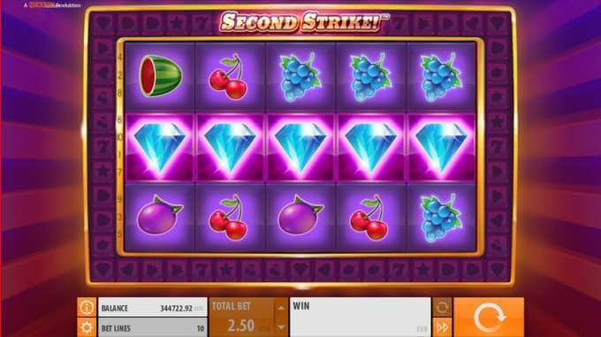 Herní automat Second Strike si můžete vyzkoušet zdarma!