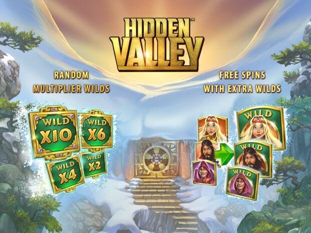 Herní automat Hidden Valley si můžete vyzkoušet zdarma!