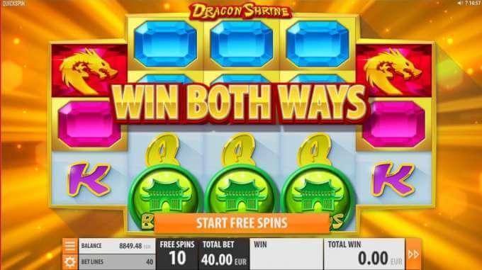 Herní automat Dragon Shrine