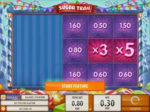Sugar Trail herní automat
