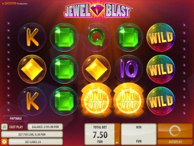 Jewel Blast herní automat