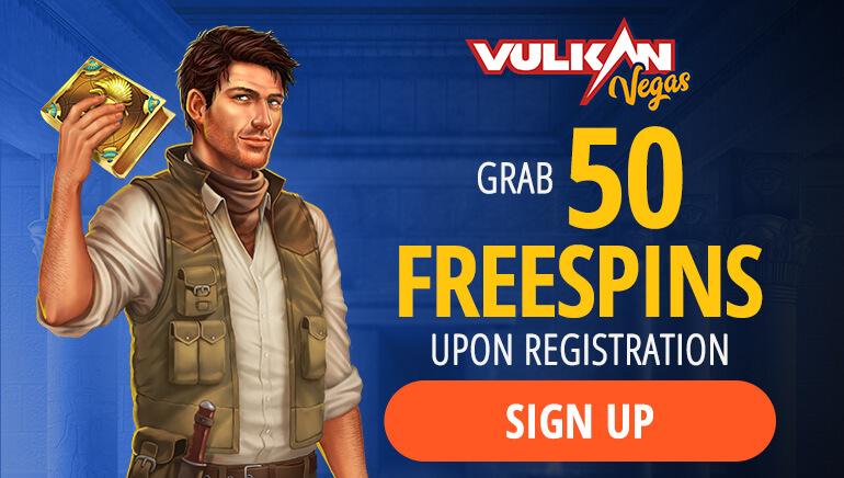 Vulkan Vegas - 50 Free Spins