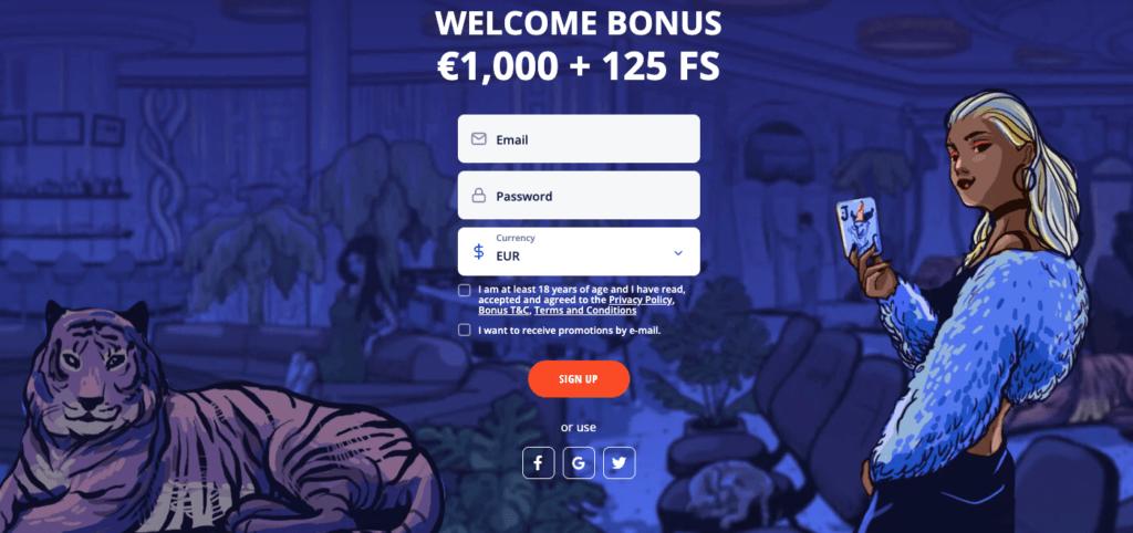 Vulkan Vegas - Uvítací bonus