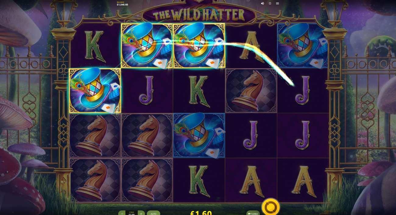 The Wild Hatter - velká výhra