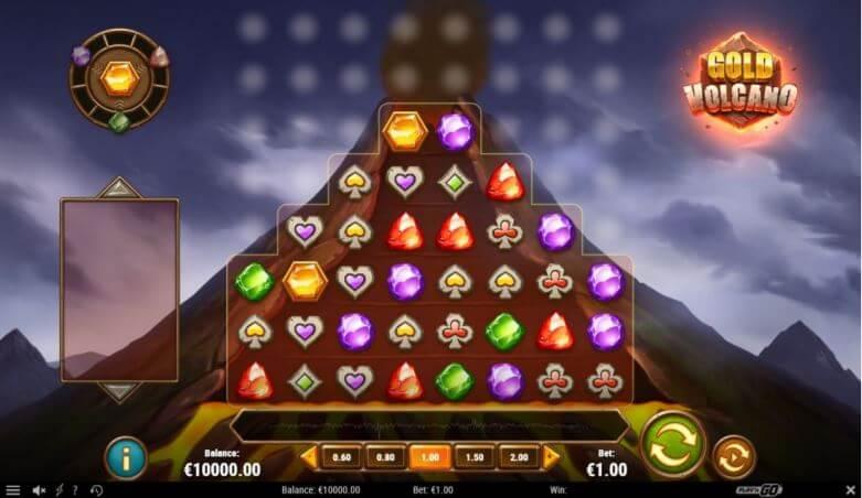 The Gold Volcano - velká výhra