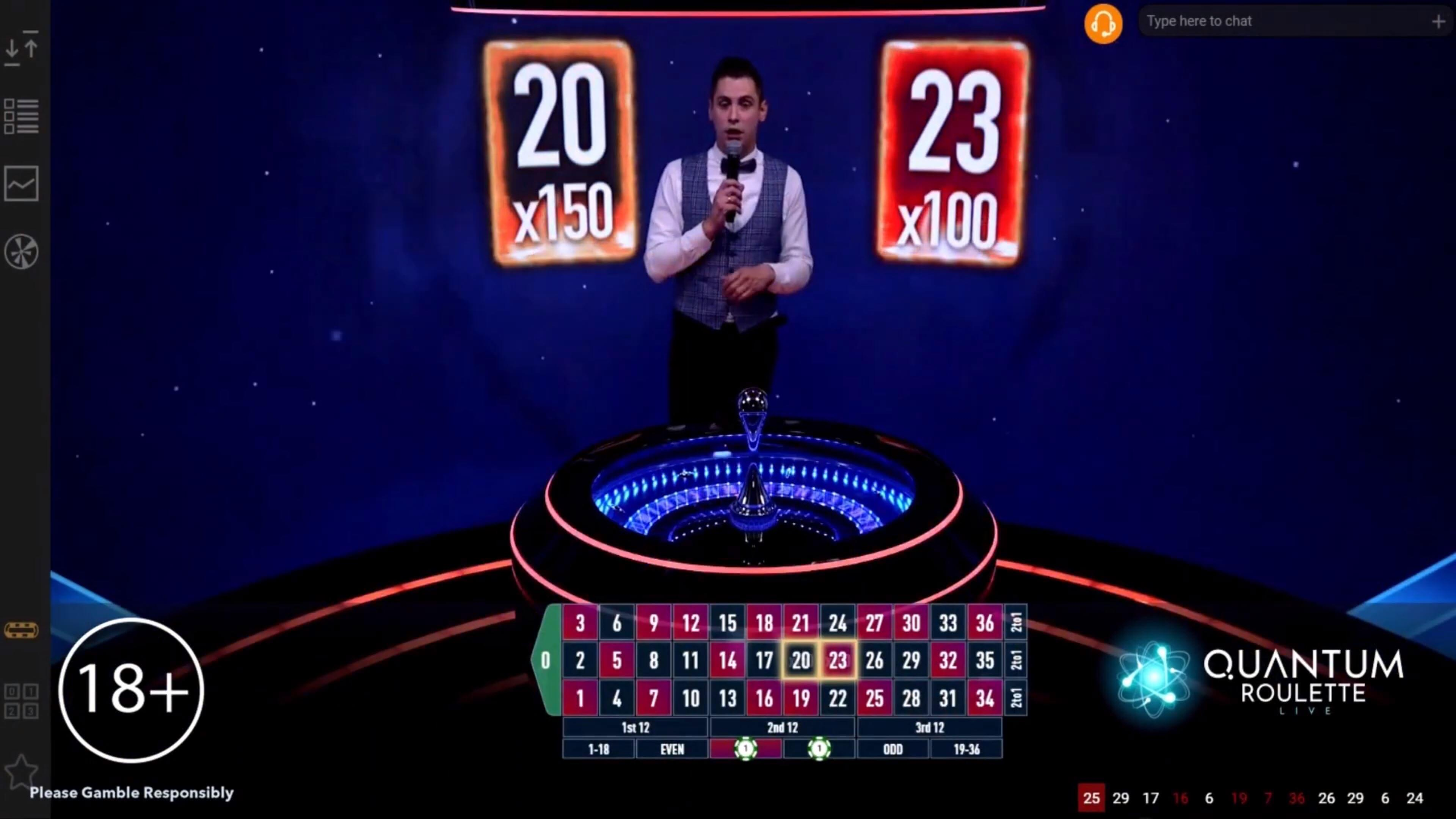 Quantum Roulette pro všechny hráče!