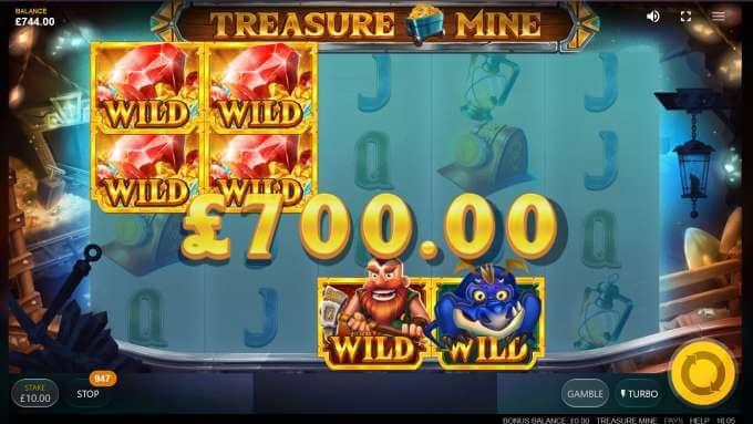 Treasure Mine automat