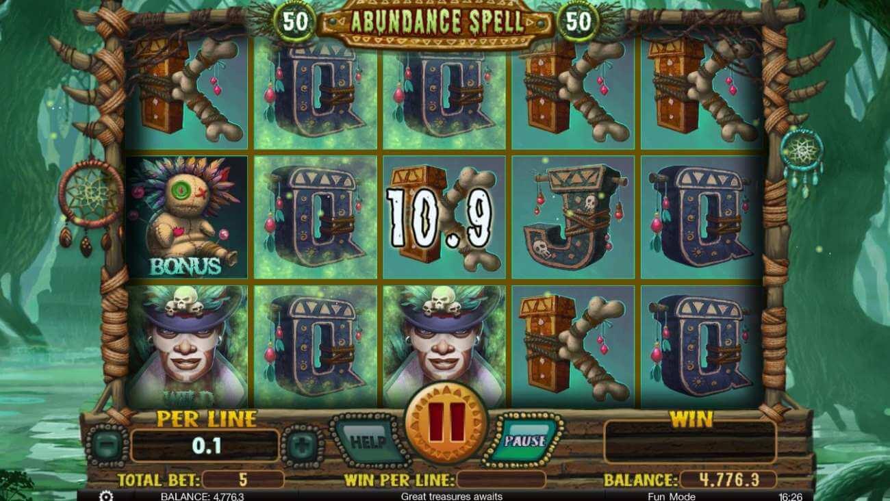Abundance spell automat