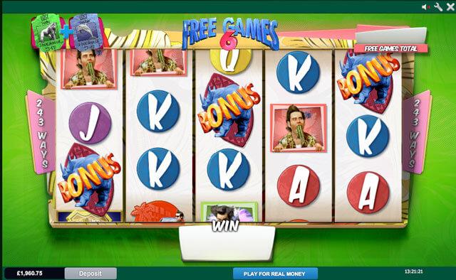 Herní automat Ace Ventura