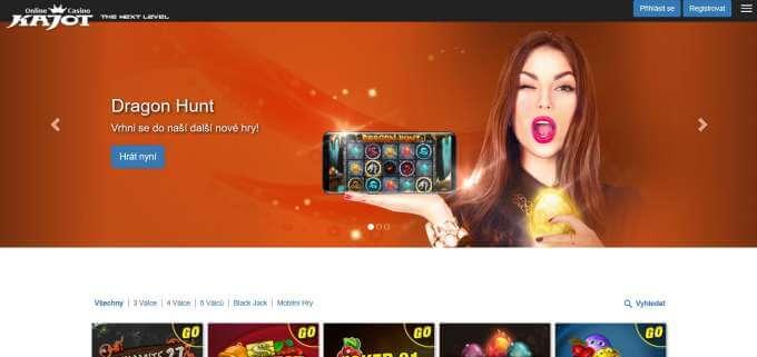 Kajot casino rozdávající ohromné množství zajímavých bonusů