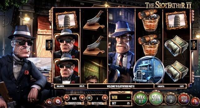 The Slotfather herní automat zdarma