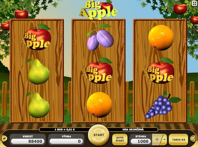 Hrací automaty Kajot Big Apple