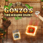 GONZO'S TREASURE HUNT jako první live casino hra ve VR!