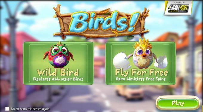 Casino hra Birds