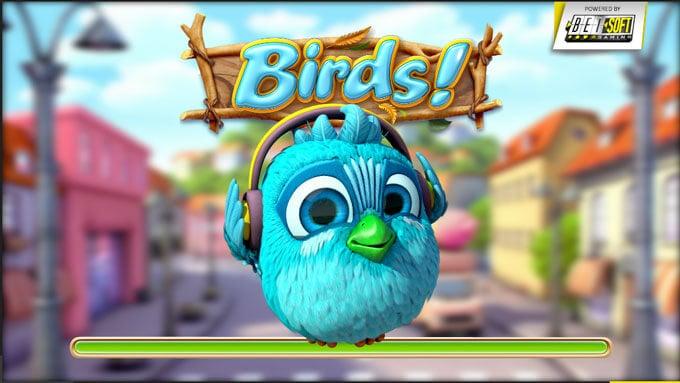 Birds automatová hra
