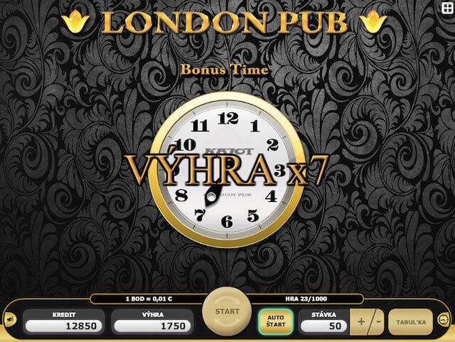 Hrací automat London Pub