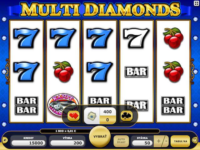 Multi Diamonds automat zdarma
