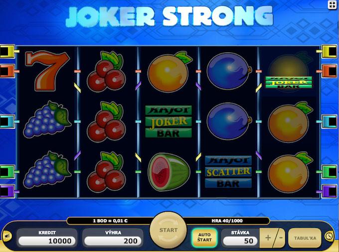 Joker Strong automat od Kajotu