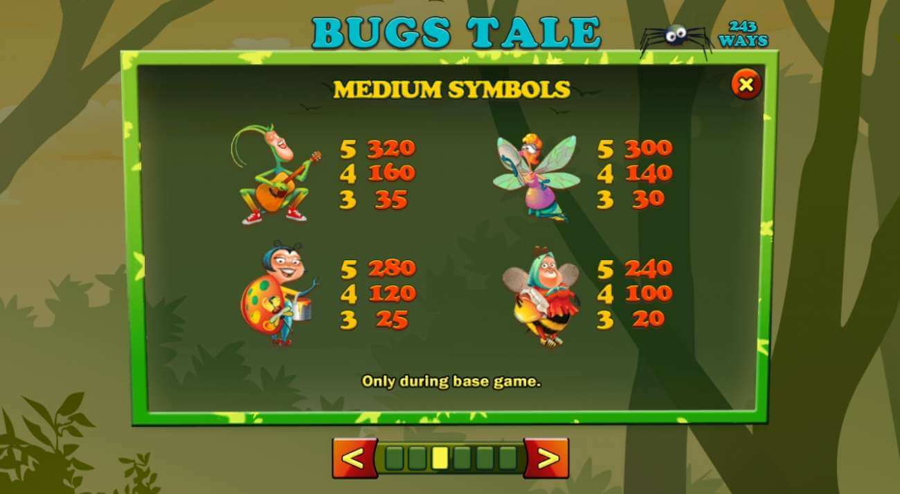 Bugs Tale symboly