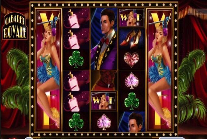 Cabaret Royal herní automat od vývojářů Microgaming