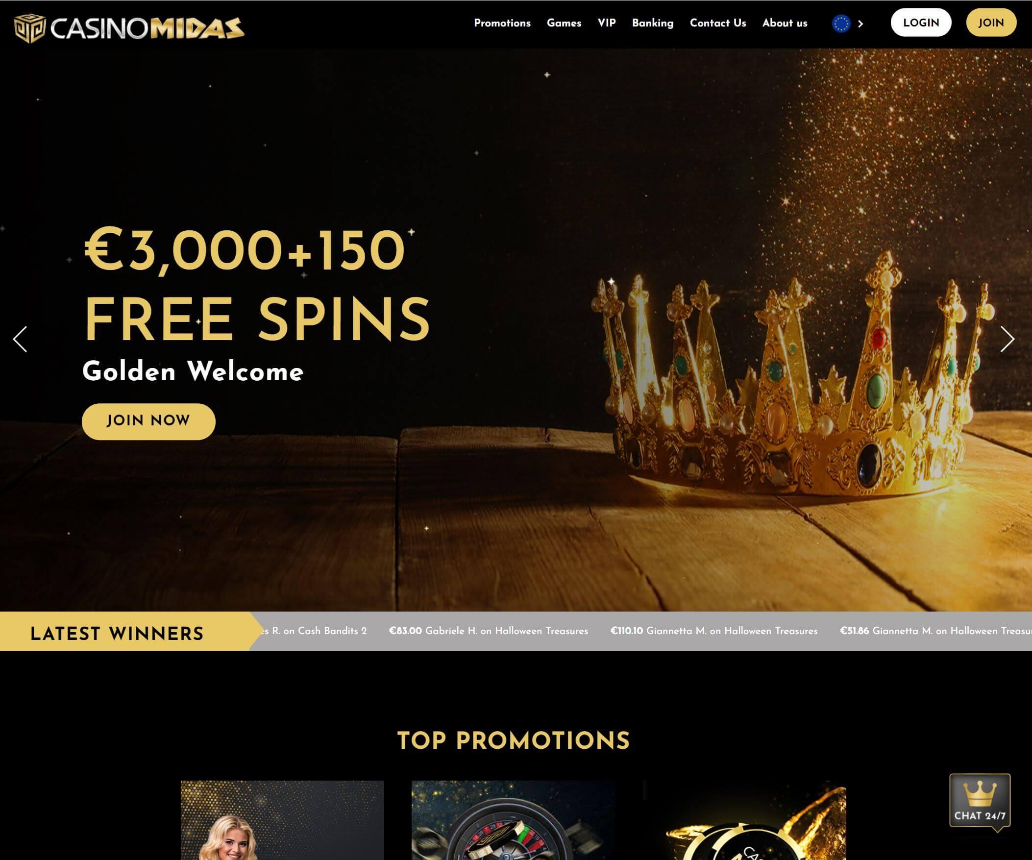 CasinoMidas a jeho zajímavé hry