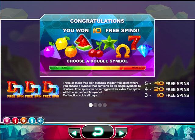 Doubles herní automat