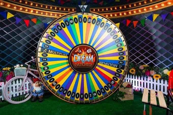 Dream Catcher herní automat a jeho kolo štěstí