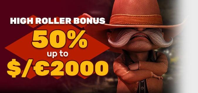 Casino bonus pro velké PlayAmo hráče!