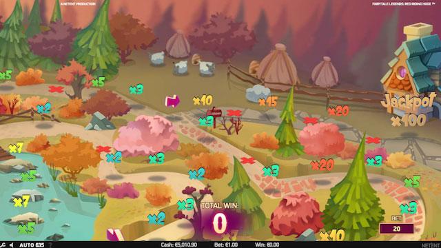 super bonus v herním automatu Fairtale Legends