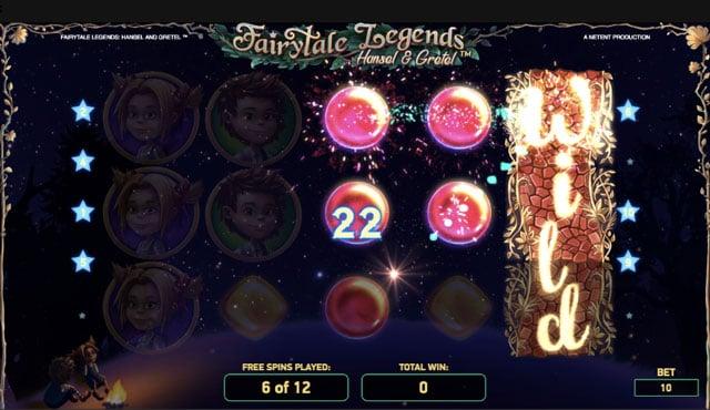 Neuvěřitelný bonus Fairytale Legends!