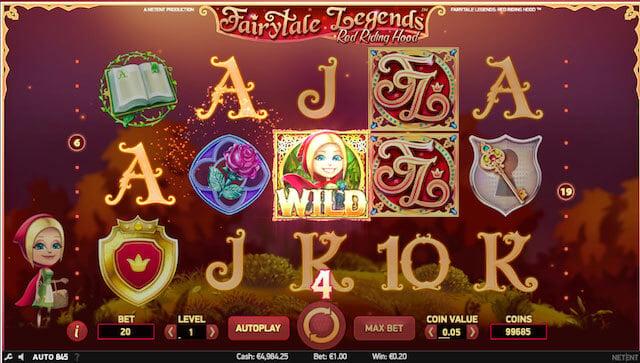 Výherni automat Fairytale Legends Red Ridding hood