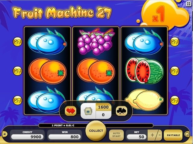 Herní automat Fruit Machine 27