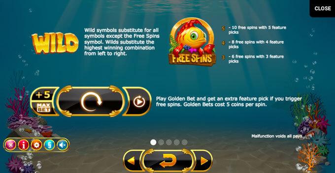Golden Fish Tank automat