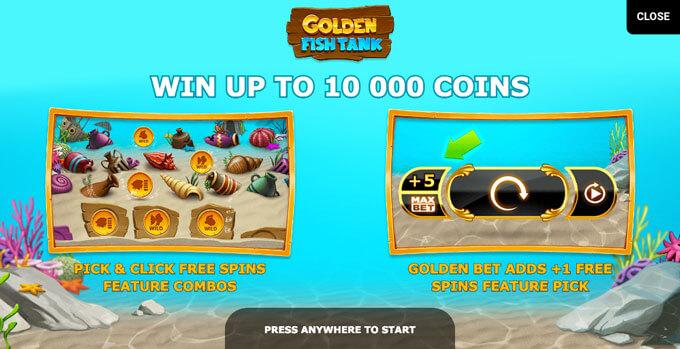 Automaty zdarma Golden Fish Tank