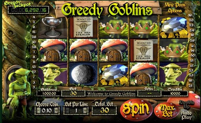 automaty zdarma Greedy Goblins