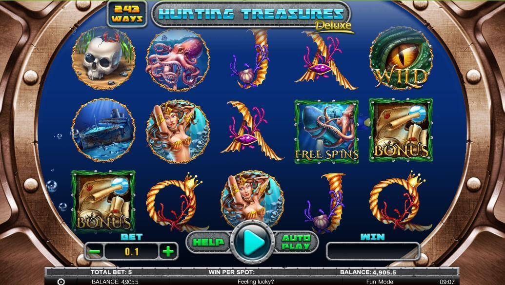 Hunting Treasures - velká výhra