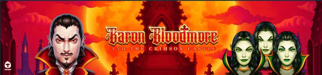 Baron Bloodmore and The Crimsome Castle úvodní stránka
