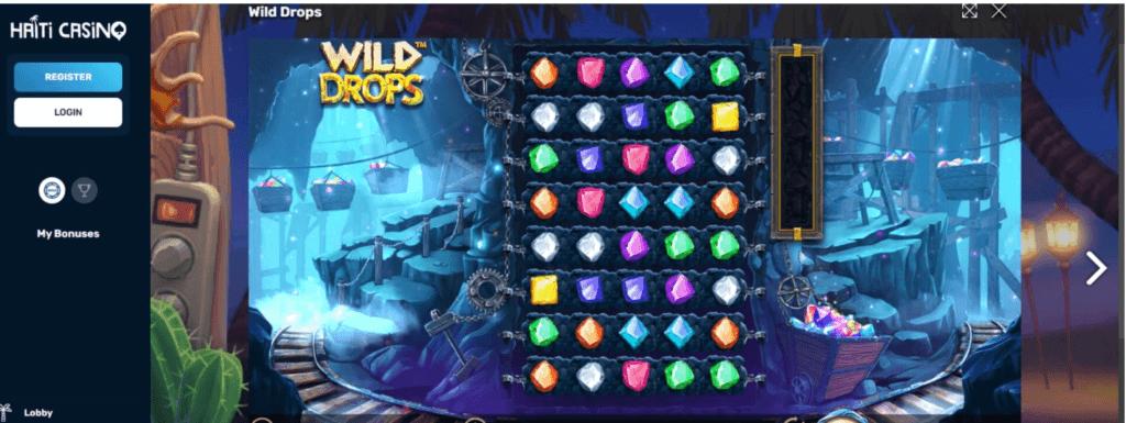 Hra Wild Drops