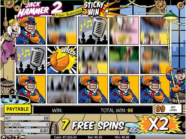 Jack Hammer 2 super automat