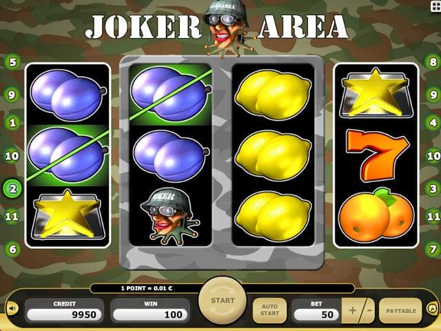 Joker Arena automat zdarma