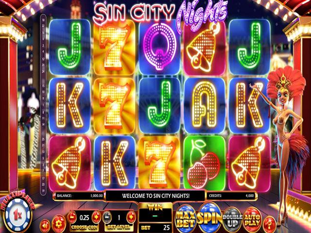 Automaty zdarma Sin City Nights