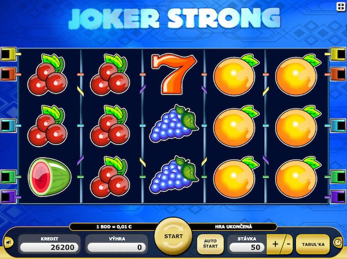 herní automat Joker Strong