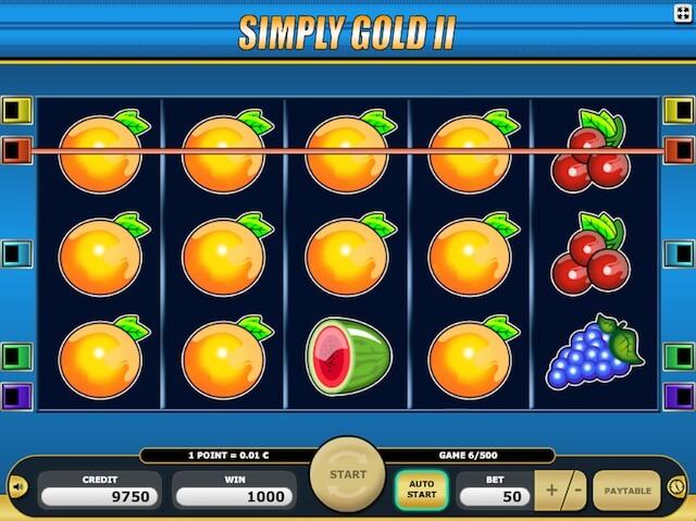Kajot automaty neboli Simply Gold 2
